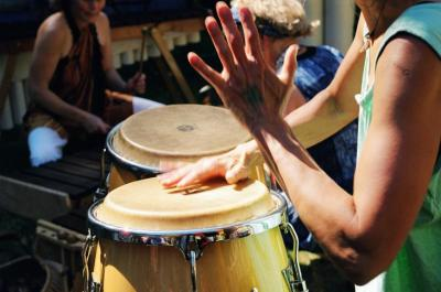 Makeke Marimba on the Dock