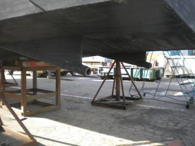 photo of Centurion VII out of the water